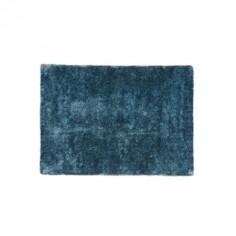 Alfombra azul y marrón de poliester 200 cm
