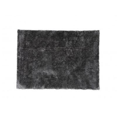 Comprar alfombra gris y negro de poliester 200 cm - Alfombras de poliester ...