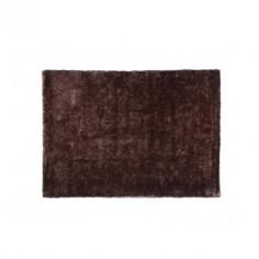 Alfombra marrón de poliester 200 cm