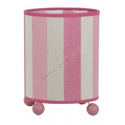 Sobremesa infantil moderno color rosa claro