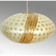 Lámpara de techo moderna fabricada en nácar