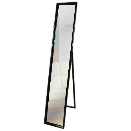 Comprar espejo grande de suelo con marco de madera for Espejo rectangular con marco de madera