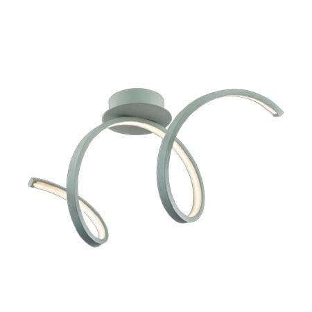 comprar lmpara de techo moderna con forma de espiral y bombillas de led
