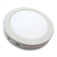 Downlight para techo en color blanco con 12W