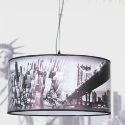 Colgante de techo con motivo de ciudad new York