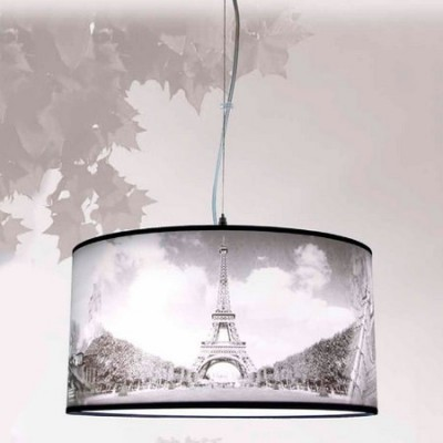 Colgante moderno de techo con motivo París