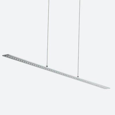 Lámpara colgante moderna de Led en plata