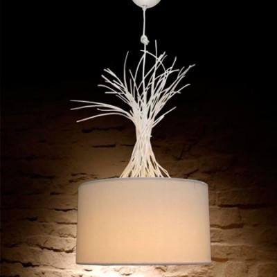 Lámpara de techo colgante en color blanco