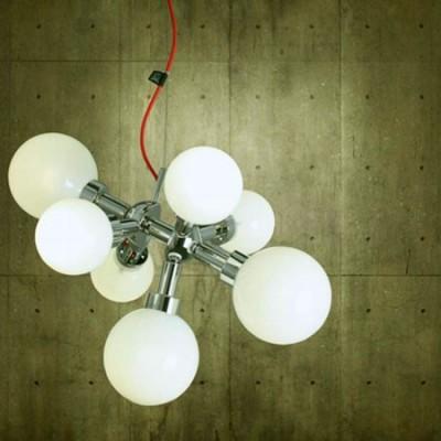 Lámpara de techo de diseño con 7 luces