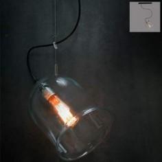 Lámpara colgante serie Focus en cristal
