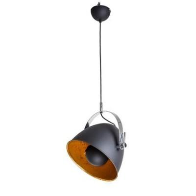Lámpara colgante moderna en negro mate