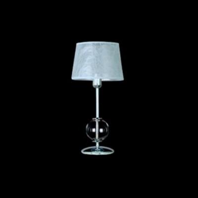 Lámpara de sobremesa en cromo cristal