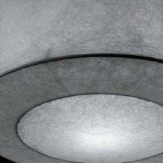 Lámpara de techo colgante de piel vegetal