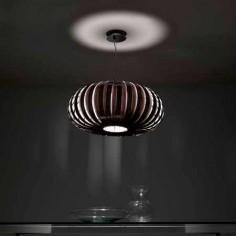 Lámpara de techo Wig colgante en madera