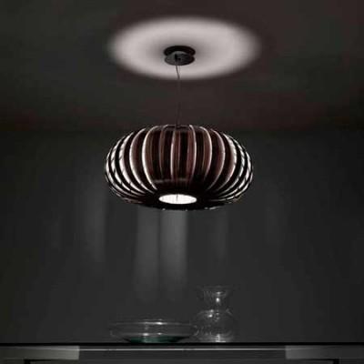 Lámpara de techo colgante en madera