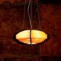 Lámpara colgante Ufo en madera laminada