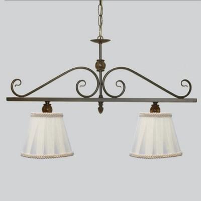 Comprar l mpara de techo nudo lineal dos luces con bolitas tono mbar - Lamparas en dos hermanas ...