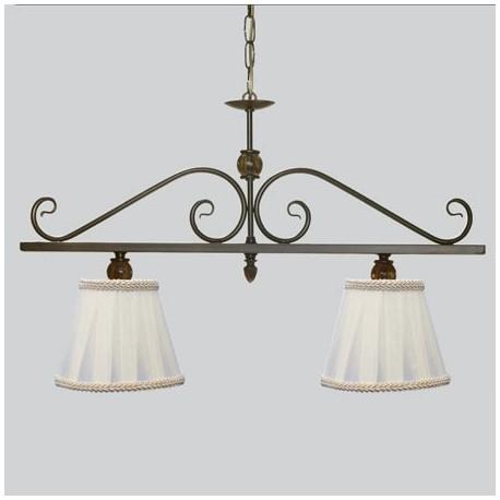 Comprar l mpara de techo nudo lineal dos luces con bolitas - Lamparas en dos hermanas ...
