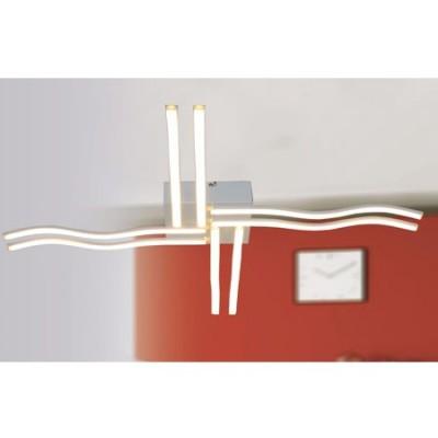 Plafón moderno LED colección Bath líneas curvas