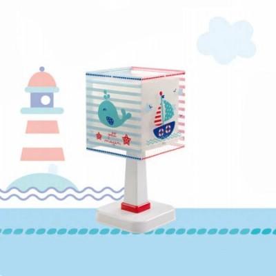 Lámpara de sobremesa infantil Petit Marin motivo marinero
