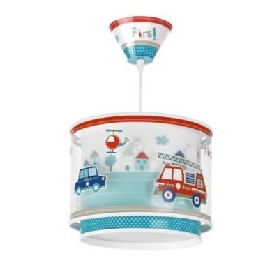 Lámpara de techo infantil doble pantalla colección Police!