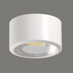 Plafón de techo técnico LED modelo Studio color blanco