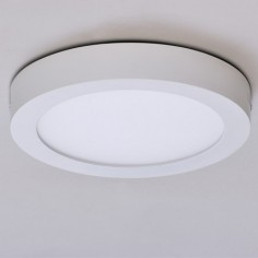 Plafón circular LED Sky Spot color blanco