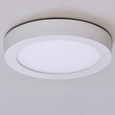 Plafón circular LED Sky Spot color blanco 22 cm de diámetro