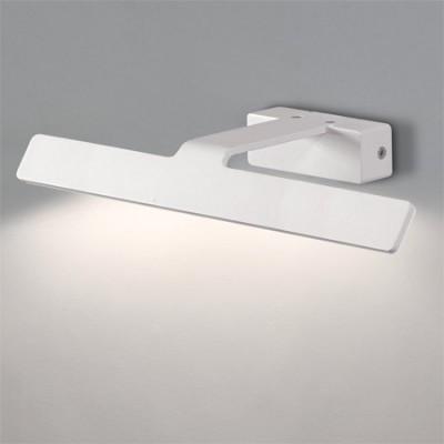 Aplique iluminacuadros texturado blanco LED 36cm