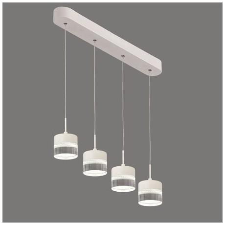 Comprar l mpara de techo lineal cuatro luces led austral - Comprar lamparas de techo ...