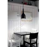 Lámpara colgante LED Tai acabado blanco mate