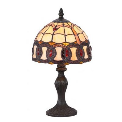 Lámpara de sobremesa Tiffany serie Chain