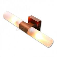 Aplique de metal cuero viejo cristales cilíndricos IP44