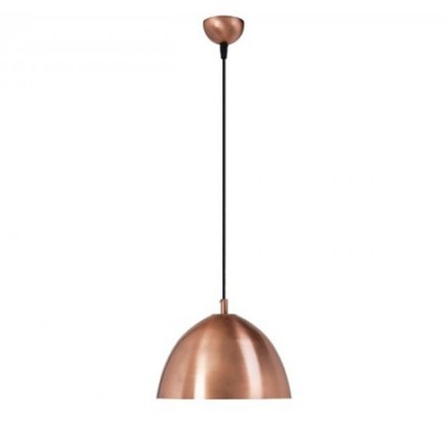 Lámpara colgante Lite metálica en color cobre