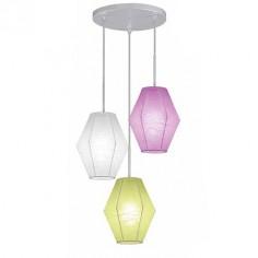 Lámpara infantil Sweet con tres luces y pantallas de Artecoon de colores