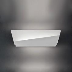 Aplique de pared moderno Lola LED blanco