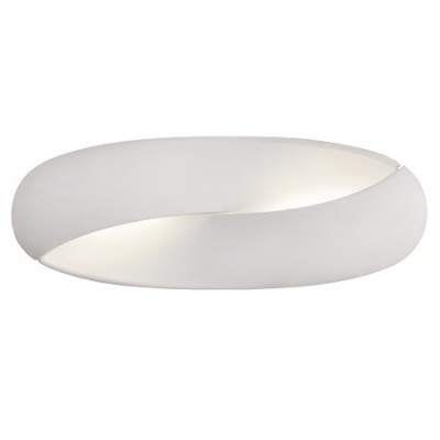 Aplique de pared Norma LED en blanco