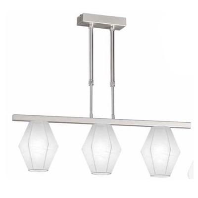 Lámpara de techo infantil Sweet lineal de tres luces y pantallas Artecoon