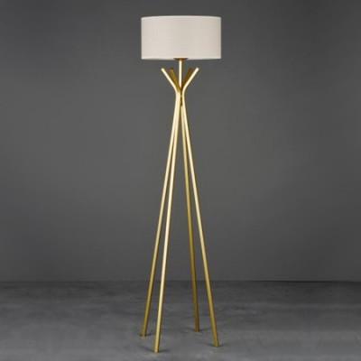 Pie de salón Adastros con tres patas en dorado
