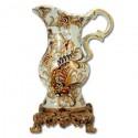 Jarra de porcelana con base de resina 30cm x 20cm