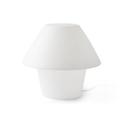 Lámpara de exterior sobremesa Versus en color blanco