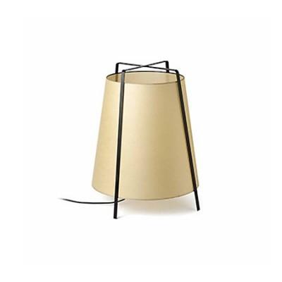 Lámpara sobremesa Akane pantalla papiro beige