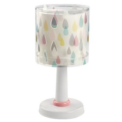 Lámpara sobremesa infantil Color Rain con gotitas de colores
