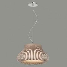 Lámpara de techo Nanok con tiras en color marrón