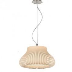 Lámpara de techo en color beige serie Nanok