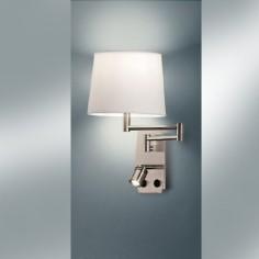 Aplique pared Aram con lector LED y pantalla orientables