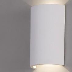 Aplique pared LED Axel en blanco mate