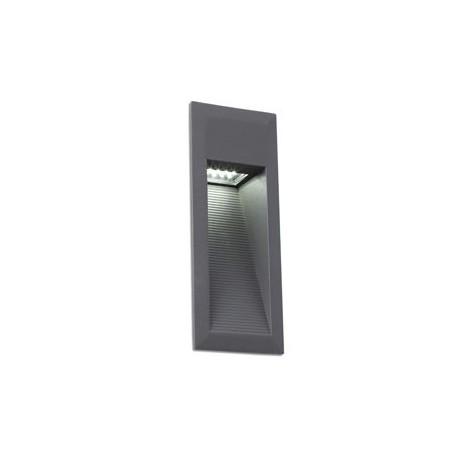 Comprar empotrable para exterior landai led en gris oscuro for Exterior gris oscuro