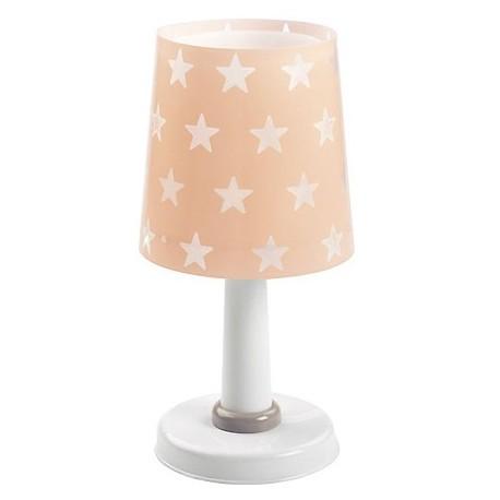 Comprar l mpara infantil sobremesa stars rosa con estrellitas for Lampara sobremesa infantil