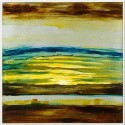 Cuadro abstracto impresión multicolor